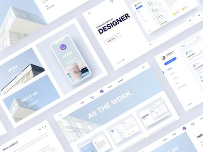 Personal web design china hiwow jondesigner jon designer webpage ui web