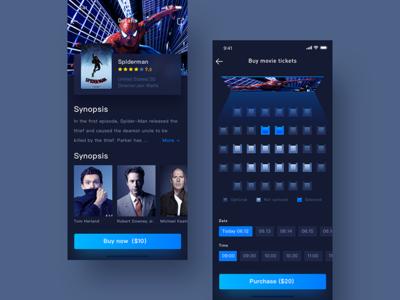 Movie app china hiwow jondesigner jon movie app