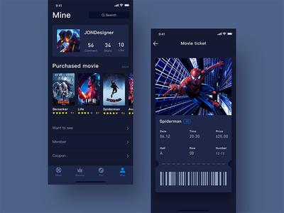 Movie app hiwow jondesigner jon movie app