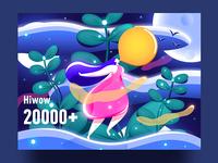 Hiwow 20000+