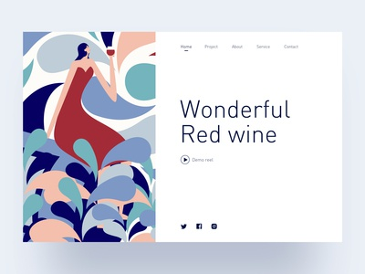 Wonderful red wine