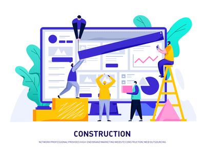 Web page construction