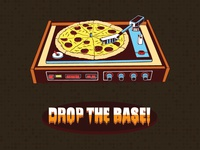 Creative Pizza Bass Illustration