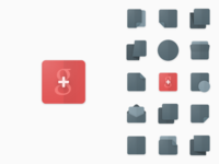 #oldproject: Google+ icon