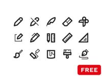 30 free pencil icons