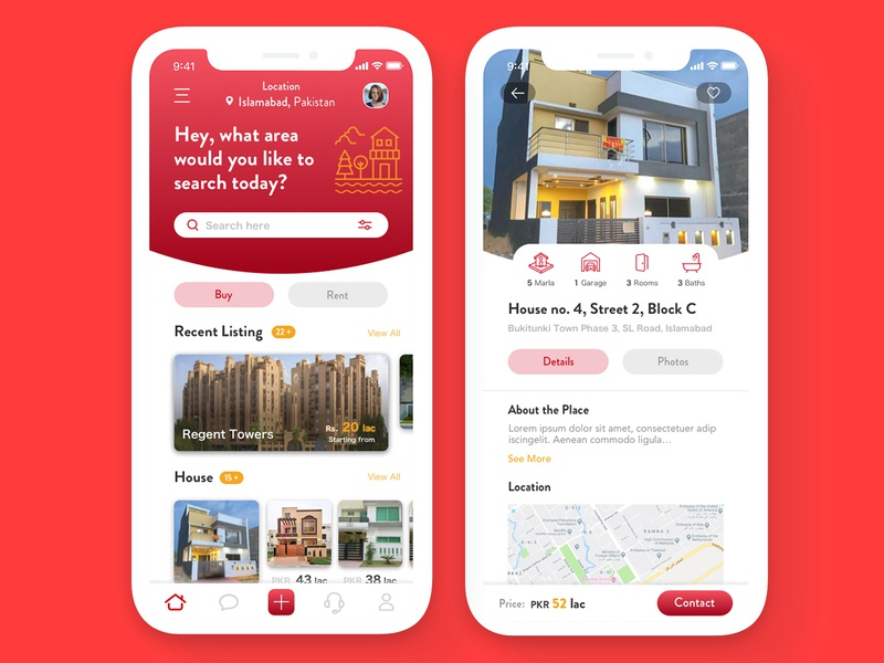 Real Estate App app mobile app ui uidesign property app realestateapp real estate app