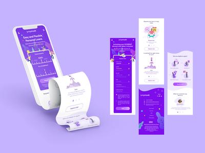 Loan Service App Design