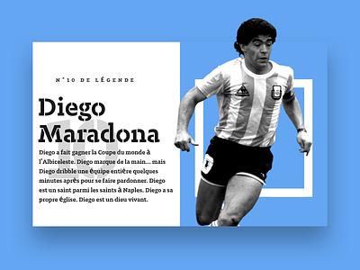 Diego Maradona soccer legend maradona football n°10