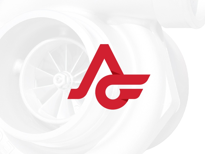 AeroForce Logo_v1 shadow f a aviation turbocharger turbo logo