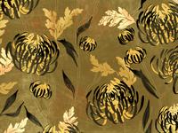 Chrysanthemum Pattern Detail