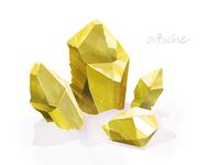 Lindsaynohl Citrine Crystal Dribbble