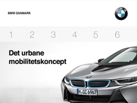 BMW Denmark website design concept