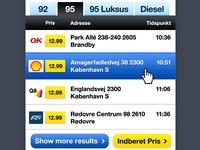 Fuel price. Mobile App