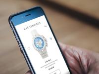 Invicta Watch Mobile Design