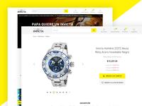 Invicta Watch Desktop