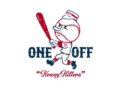 Heavy Hitters Baseball Man