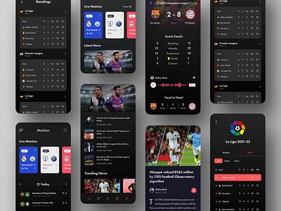 Sports Live Score App Dark game fifa soccer bet live football live update ridoy rock app prediction betting score live score football football app sports app sport