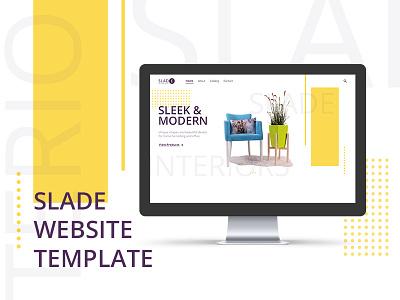 Slade WebSite Template