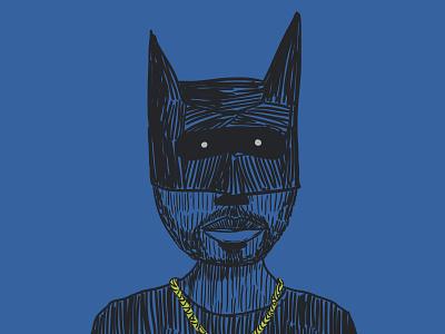 Master Wayne art icon illustration