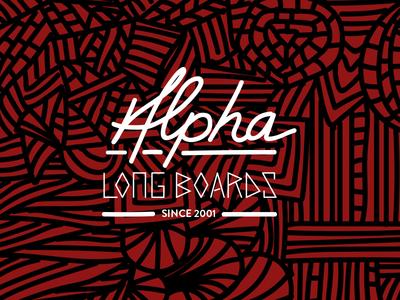 Alpha logo tshirt design and hand drawn fonts