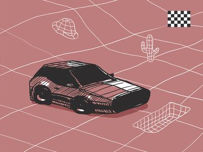 Car Game StoryBoard