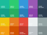 Flat UI Color Palette for Sketch
