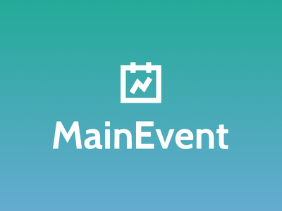 Mainevent Logo mainevent logo experiential marketing calendar roi event
