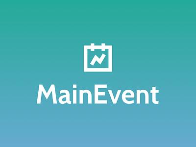 Mainevent Logo mainevent logo experiential marketing calendar roi event