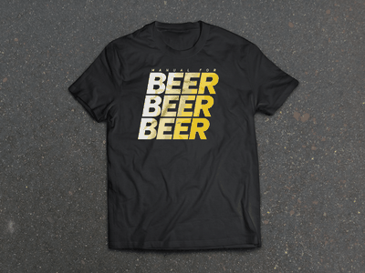 Beer Beer Beer beer t-shirt design asphalt beer beer beer mfs manual for speed cycling official bootleg tee