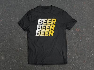 Beer Beer Beer beer t-shirt design asphalt beer beer beer mfs manual for speed cycling official bootleg tee