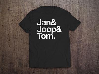 Jan & Joop & Tom T-Shirt experimental jetset tom joop jan vuelta giro tdf cycling t-shirts