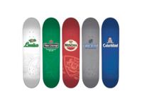 Colorblind Skateboards Beer Series