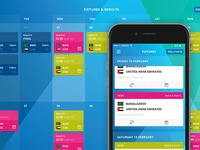 The Official ICC Cricket World Cup 2015 App - Fixtures & Results