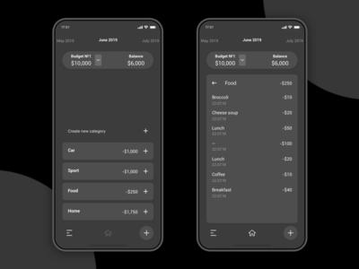 Expense Tracker iOS App