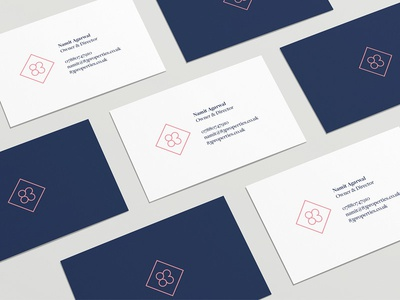 83 properties business cards by simon mccade dribbble