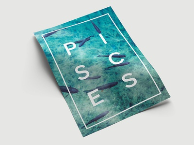 Posters - Star Sign (Pisces)