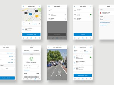 Preoday - Mobile App Designs