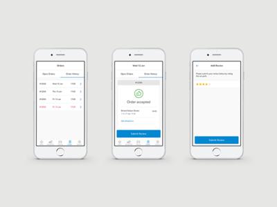 Preoday - Mobile App Design