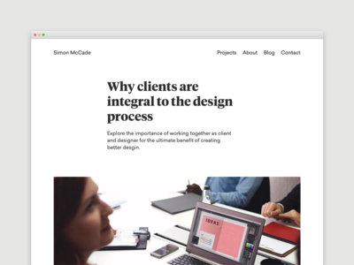 Blog - Why clients are integral to the design process