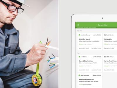 Clik Jobs - Mobile App Design