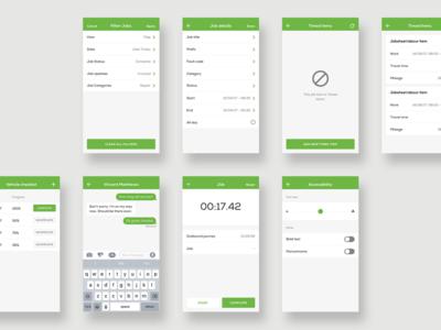 Clik Jobs - App Design