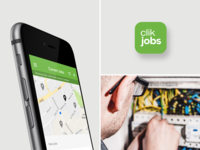 Clik Jobs - App Design