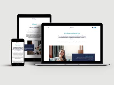 83 Clean - Website Design modern creative elegant simple clean branding website design ui design art direction