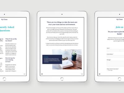 83 Clean - Website Designs art direction ui design website design branding clean simple elegant creative modern