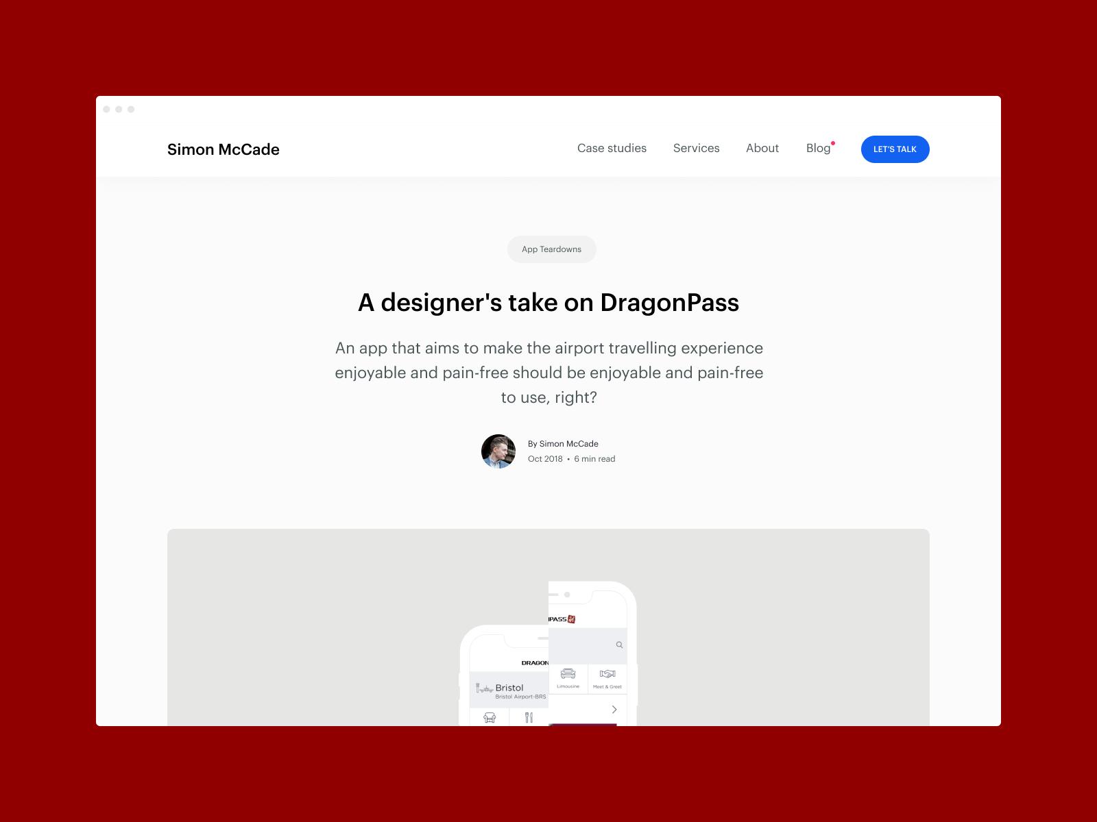 Dragonpass app teardown