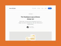 Headspace app teardown