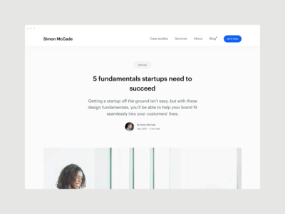 Blog - 5 fundamentals startups need to succeed