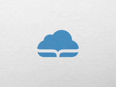 Cloud logo mark cloud blue cloud computing technology icon icon design art direction branding design graphic design logo logo design