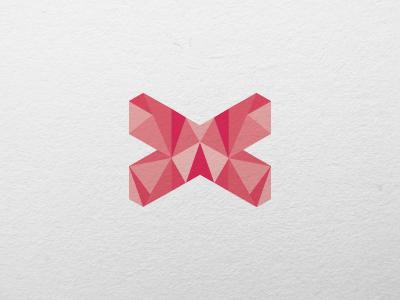 Luxan logo mark logo mark isometric shapes art direction branding design graphic design illustration logo design logo