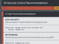 Security Control Recommendations